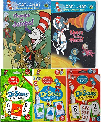 amazon com dr seuss world of fun education cat in the hat thumps