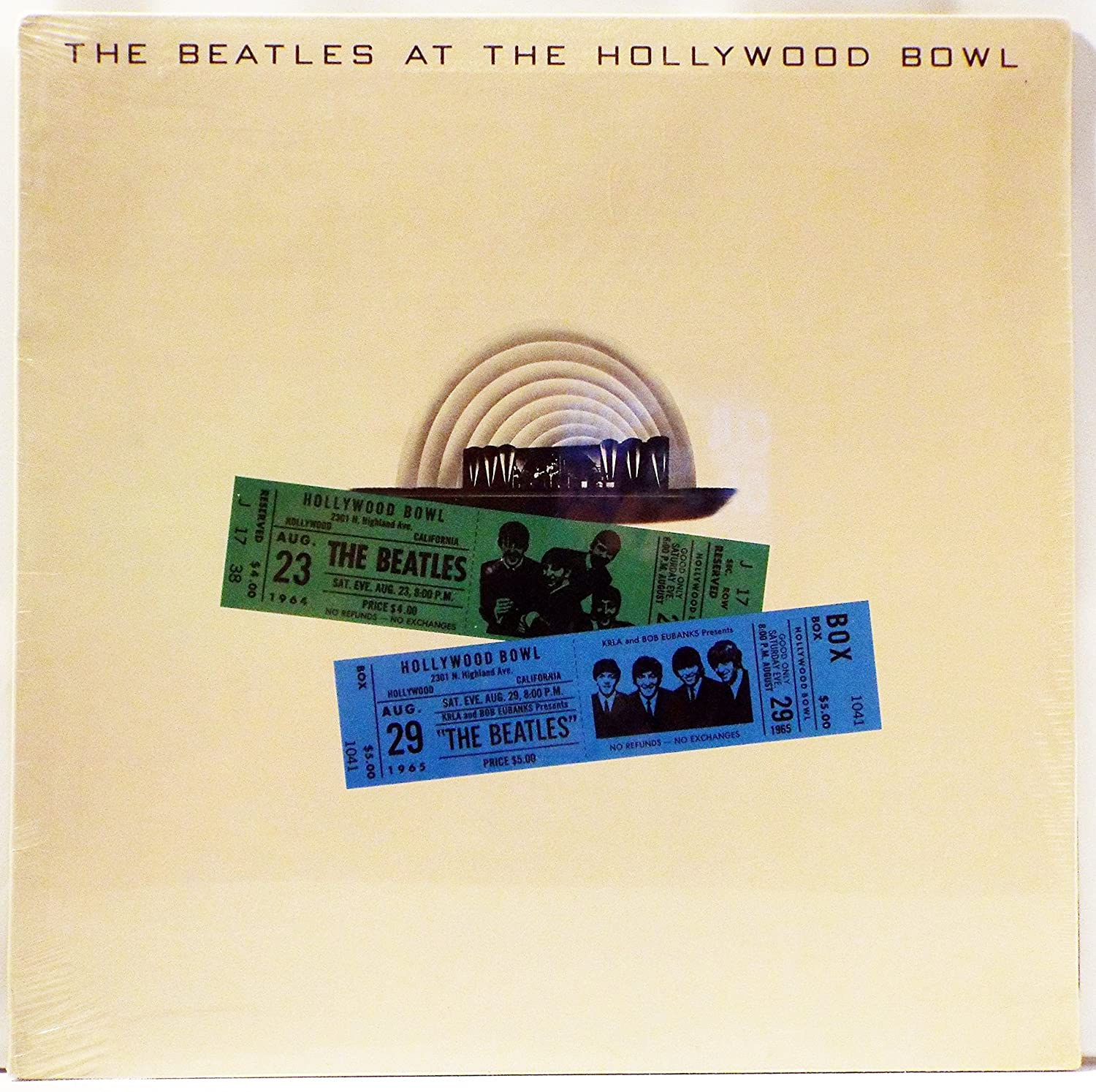 The Beatles At The Hollywood Bowl Amazon Music