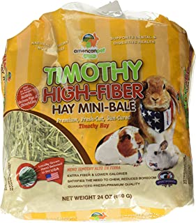 product image for American Pet Diner Timothy High-Fiber Hay, 24 Oz. By Unknown