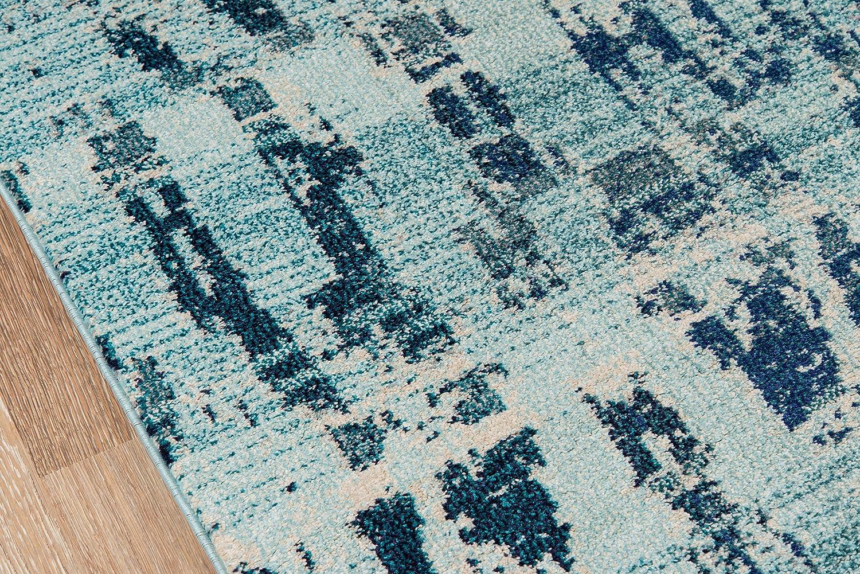 Momeni Rugs CASABCAS-4OCB2030 Casa Collection 2 x 3 Ocean Blue 2/' x 3/' Inc DROPSHIP Soft Blend Contemporary Area Rug