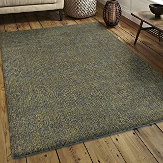 product image for Orian Rugs Super Shag Collection 392289 Solid Area Rug, 9' x 13', Blue Green
