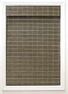 """Radiance Cordless Driftwood Bayshore Matchstick Shade-46 in. W L Bamboo, Roman Shades, Home Decorators, Window Blinds, 46"""" x 64"""