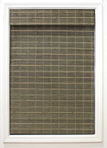 "Radiance Cordless Driftwood Bayshore Matchstick Bamboo 29"" X 64"" Window Blinds"