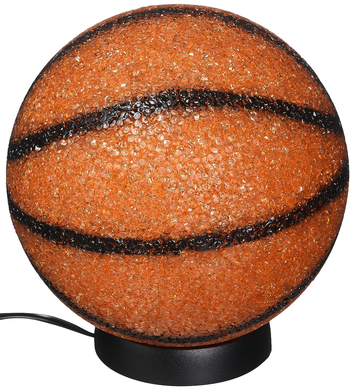 "Rhode Island Novelty ELBSKSP 9"" Sparkle Basketball Lamp"