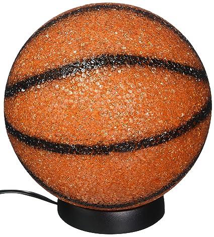 bedside creative soccer bedroom lamp glass football light basketball s led children fans table study item desk modern