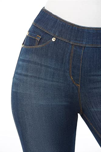 09f2ff82 Amazon.com: NYGARD SLIMS LUXE DENIM SLIMS Jeggings: Clothing