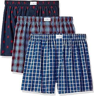 10b4533fc152 Tommy Hilfiger Men's Underwear Modern Essentials Oxford Woven Boxer ...