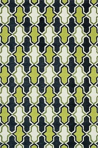 Loloi WESTON Area Rug, 2 -3 x 7 -6 , Lime Charcoal