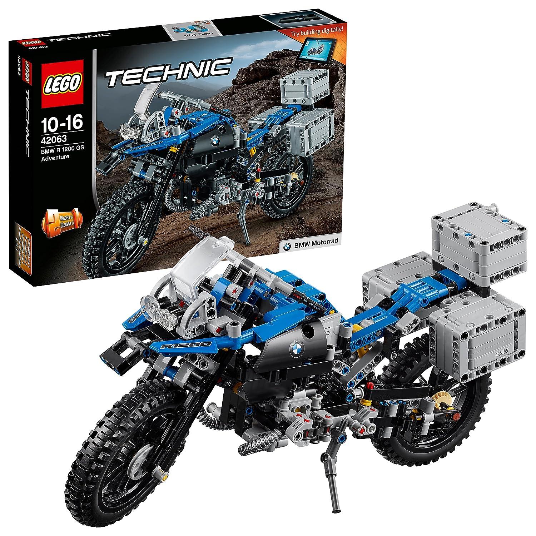LEGO Technic 42063 - Set Costruzioni Bmw R 1200 Gs Adventure Lego Italy