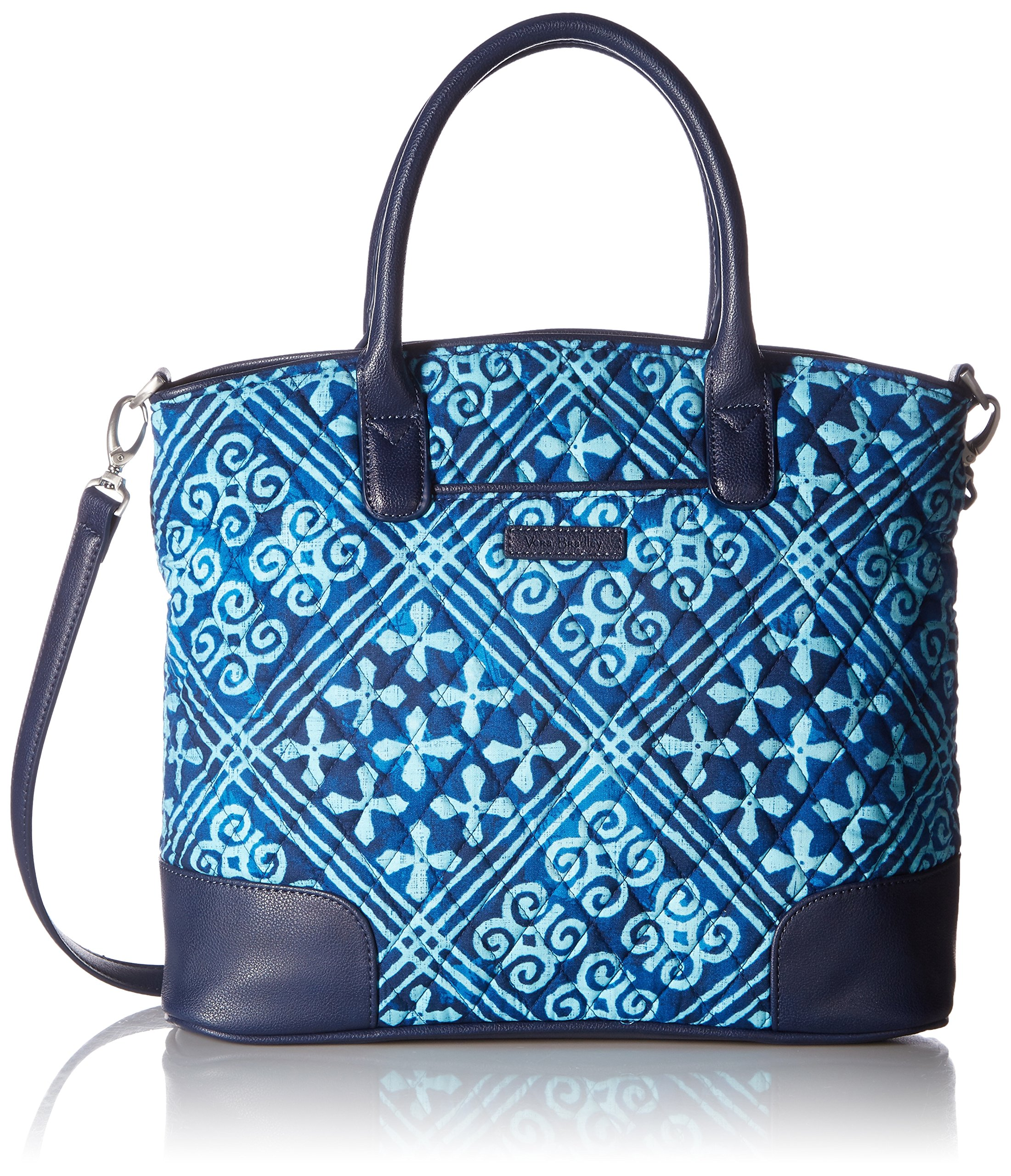 Vera Bradley Day Off Satchel, Cuban Tiles