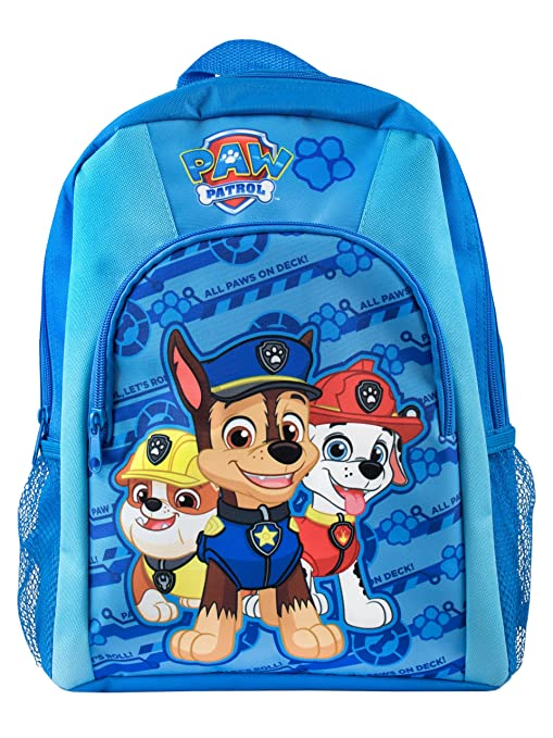 Paw Patrol Boys Paw Patrol Backpack  Amazon.co.uk  Sports   Outdoors 1b8cf26aae857