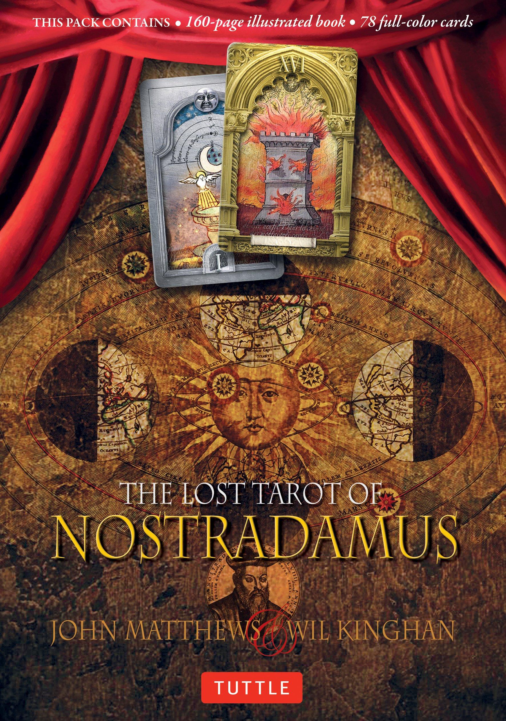 LOST TAROT OF NOSTRADAMUS BOOK: Amazon.es: Matthews, John: Libros en idiomas extranjeros