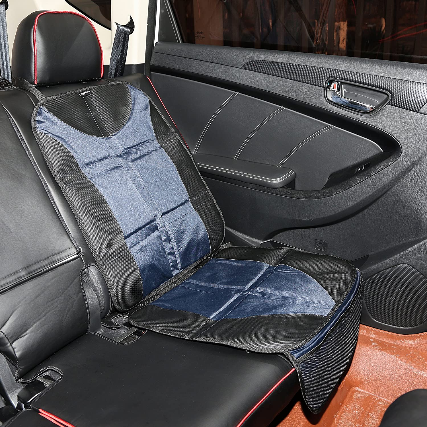 MiKiBi-77 Car Seat Cover Fast and F-urious Comfortable Stylish Design Auto Seat Protector Protector for Cars
