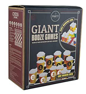 Paladone PP3550Giant Booze scacchi e Ludo Game
