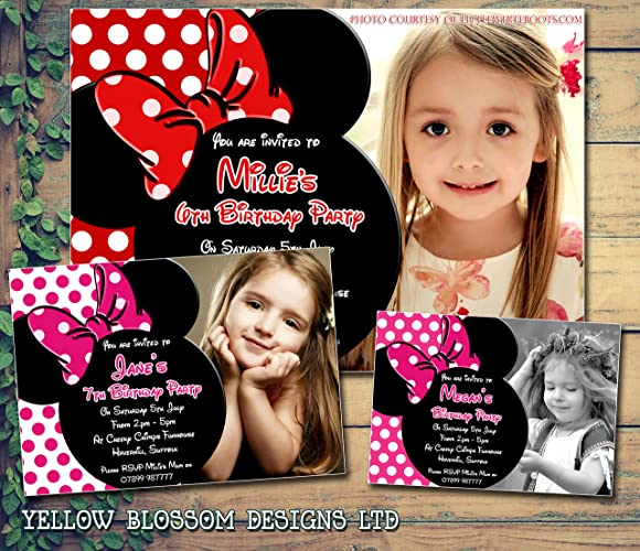 Personalised Childrens Birthday Invitations Printed Invites Boy Girl Joint Party Twins Unisex 1st 2nd 3rd 4th