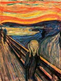 EDVARD MUNCH THE SCREAM OLD MASTER ART PAINTING PRINT 12x16 inch 30x40cm POSTER REPRODUCTION 806OM