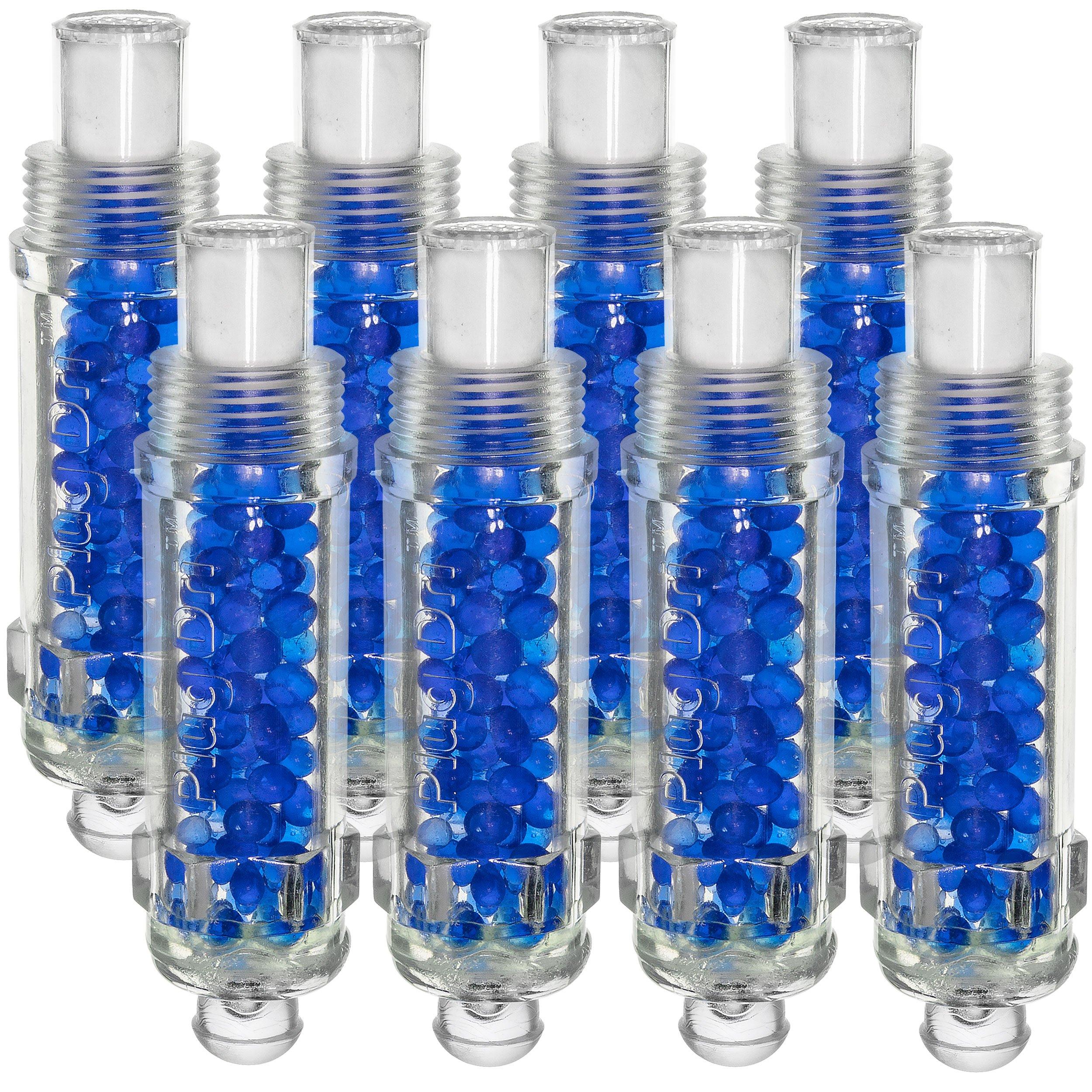 Plug-Dri 18mm Dehydrator Engine Desiccant Spark Plug, Set of 8 (Plug Dri Aircraft) by Plug Dri (Image #1)
