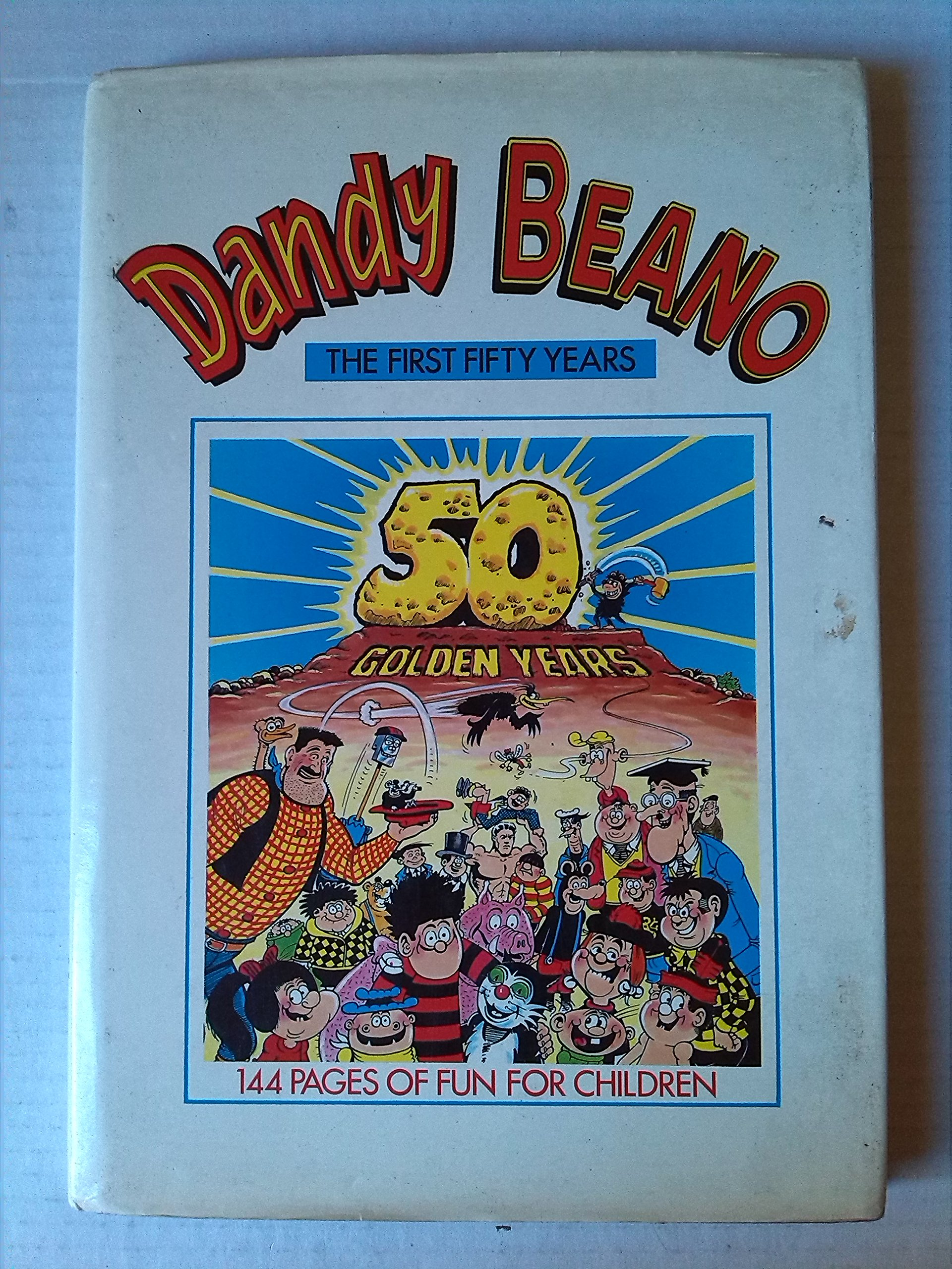 The Dandy and The Beano Fifty Years of Annuals Book The Fast Free Shipping