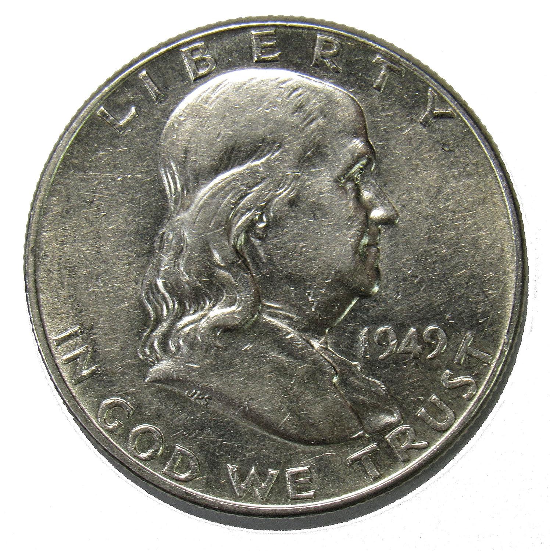 1956 P Franklin Half Dollar Half Dollar Brilliant Uncirculated