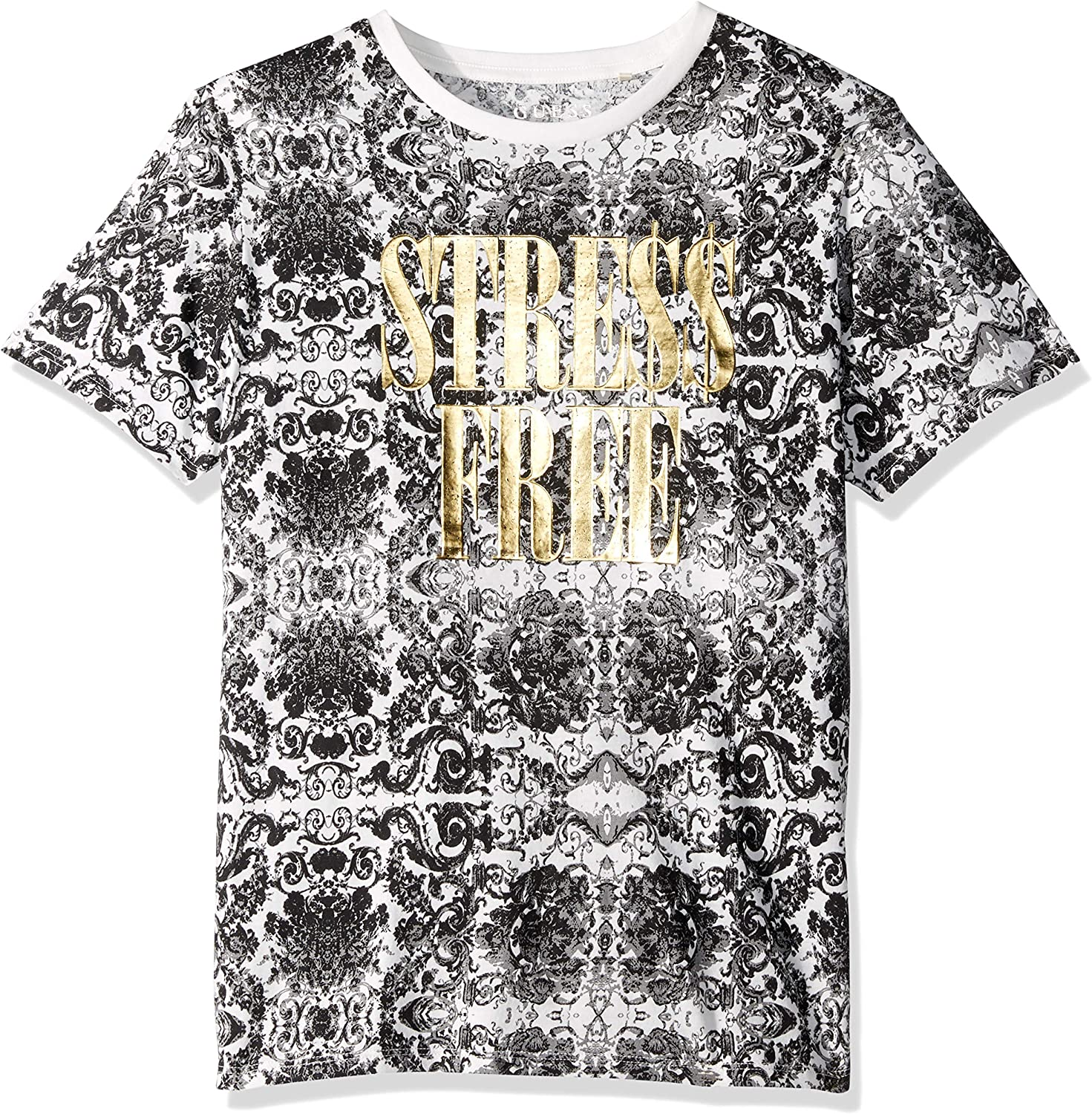 Guess Men's Stress Free Graphic Tee