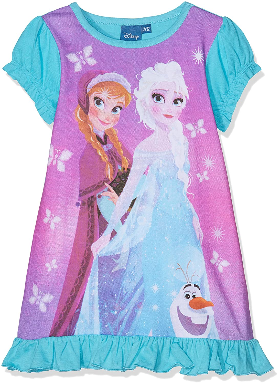 Disney Camicia da Notte Bambina Disney FZSP27408 Blu (Blue) 2 Anni Frozen