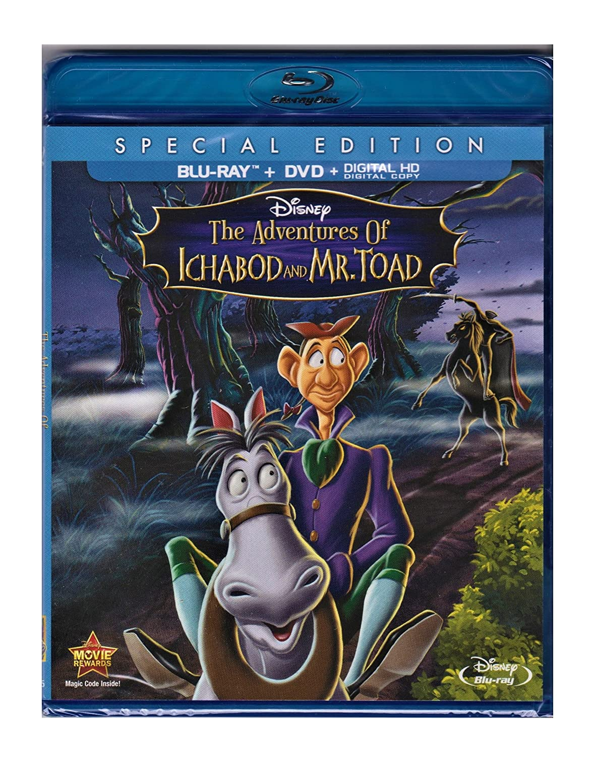 The Adventures Of Ichabod AndMr. Toad