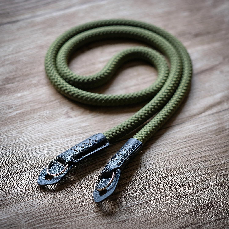 A-MoDe - Cuerda para Escalada (120 cm, Hecha a Mano), Color ...