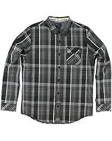 O'Neill Mens Emporium Plaid Button Up Long-Sleeve Shirt