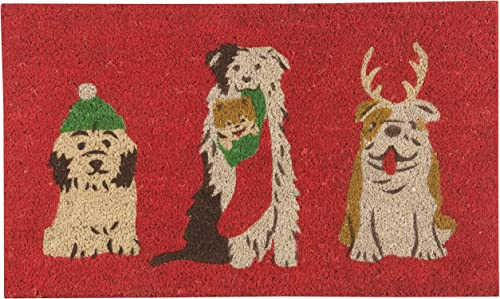 Now Designs Doormat, Holiday Pups