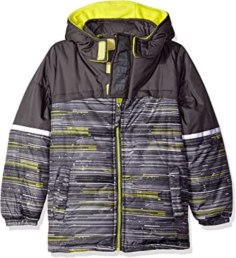 iXTREME Boys Camo Puffer with Accessory Down Alternative Coat