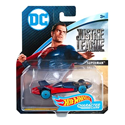 Hot Wheels DC Universe Man of Steel Vehicle: Toys & Games