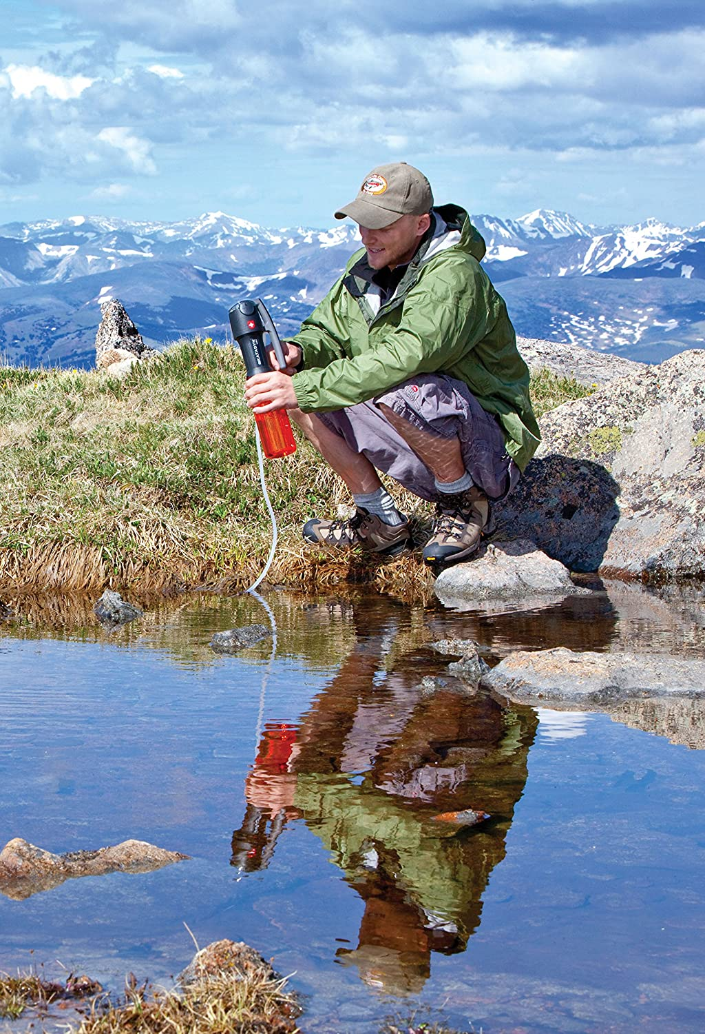 Katadyn Vario Water Filter, Dual Technology Microfilter for Personal or Small Group Camping