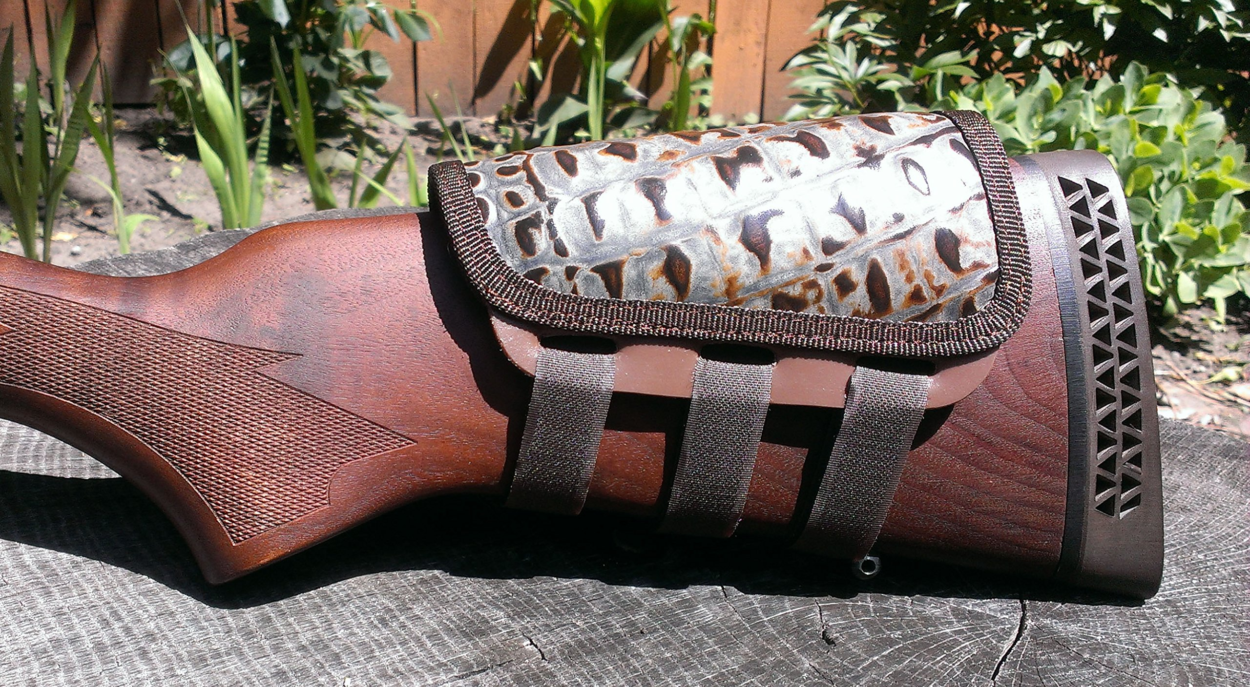 ITC Rifle Cheek Pad/Cheek Riser/CheekRest Marksmanship (Hornback Leather) by ITC