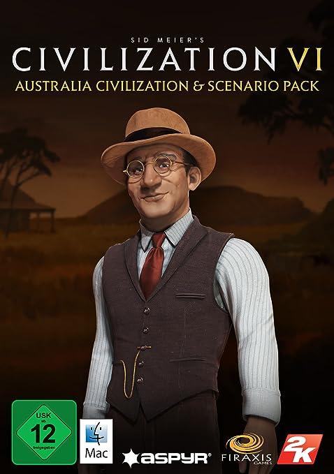 Sid Meier's Civilization VI - Australia Civilization & Scenario Pack (Mac) [Mac Code - Steam]