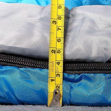 Redstone XL Saco de Dormir - Relleno Caliente 400g/mc + 210cm Longitud - Adulto: Amazon.es: Deportes y aire libre