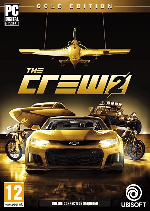 Gold Edition The Crew 2 PC Code - Uplay