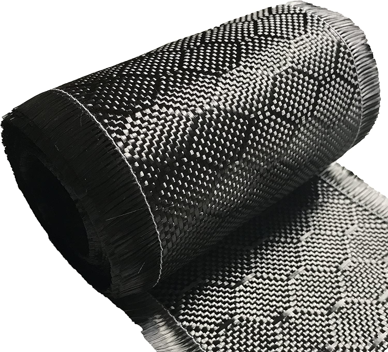 4 in x 5 FT 220g-Black Bee Hive CARBON FIBER FABRIC-2x2 Twill WEAVE-3K