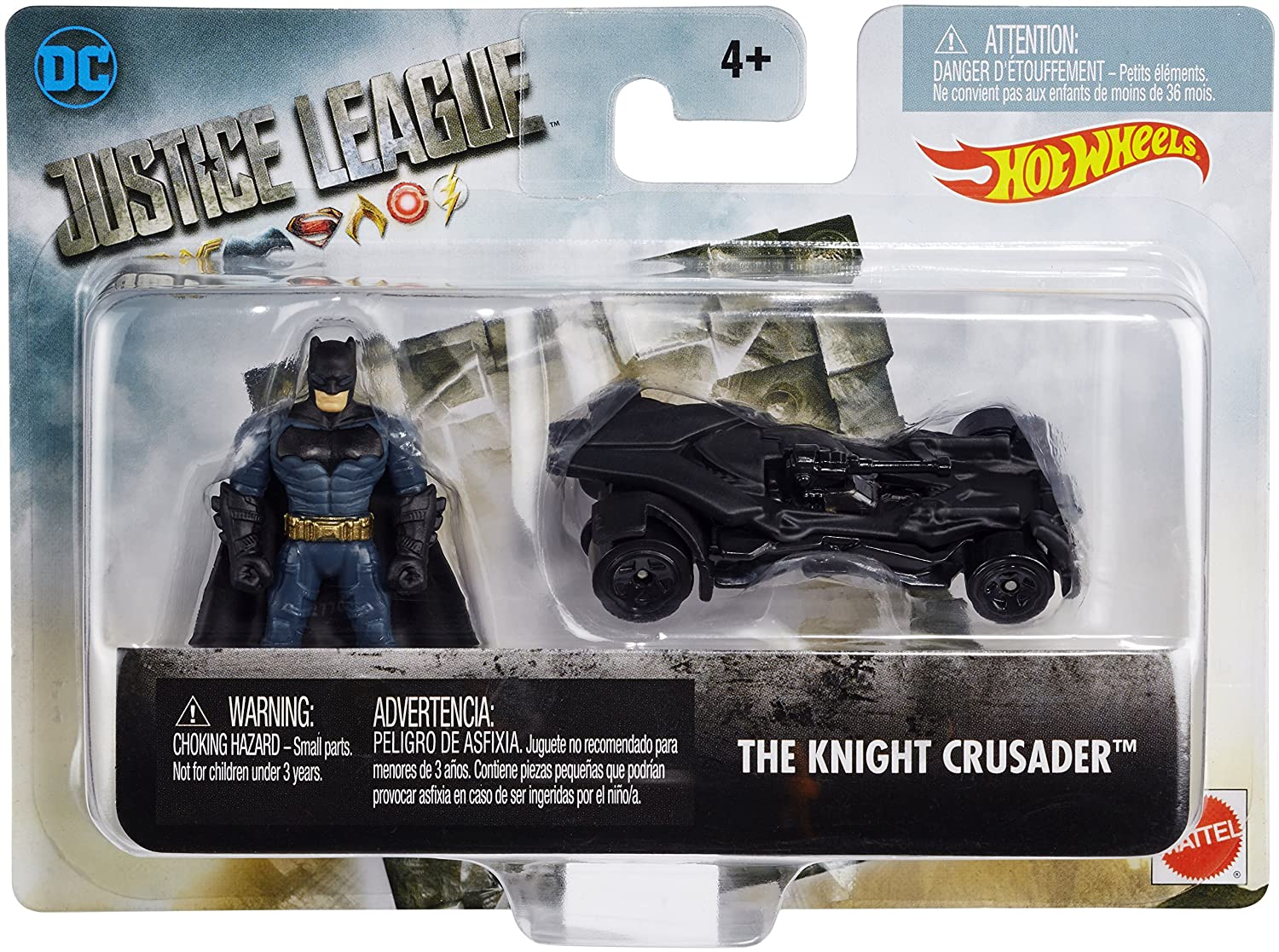DC Justice League Mighty Mini The Knight Crusader Set