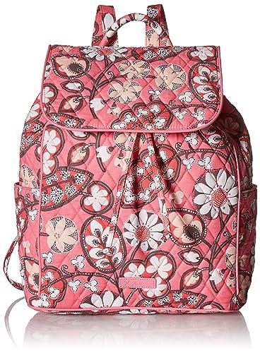 Amazon.com  Vera Bradley Women s Drawstring Backpack dd3f91ec52238