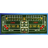 Las Vegas Craps Table Felt Layout