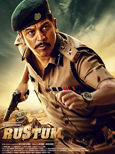 Poster of Rustum 2019 Full Hindi Dubbed Movie Download HDRip 720p