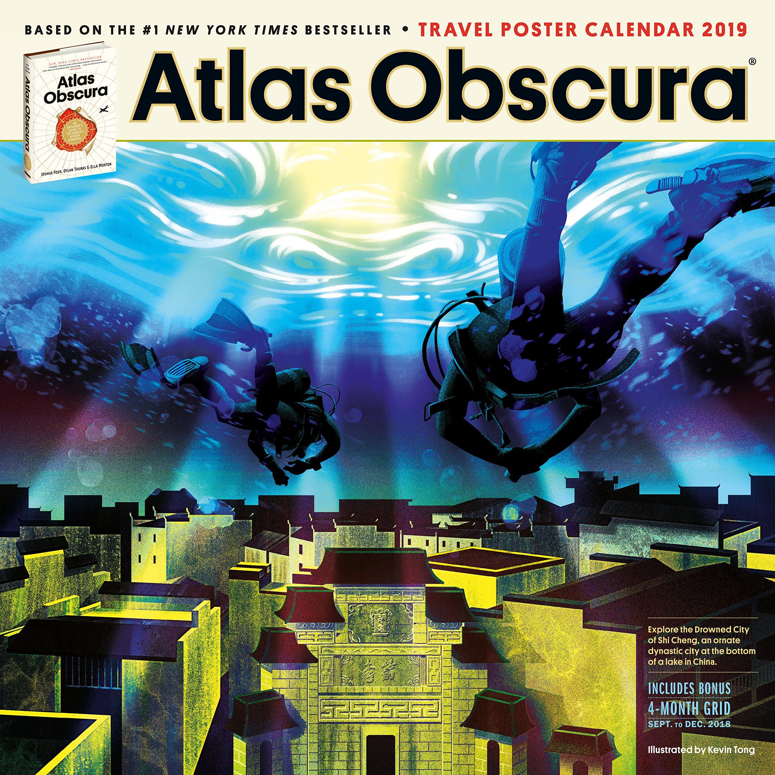 Atlas Obscura Wall Calendar 2019: Atlas Obscura