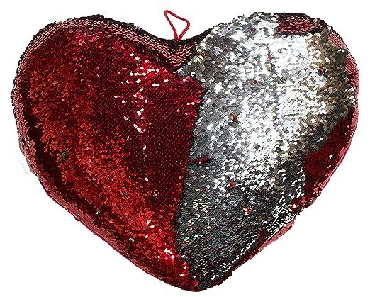 15), cambio de color con forma de corazón almohada de ...