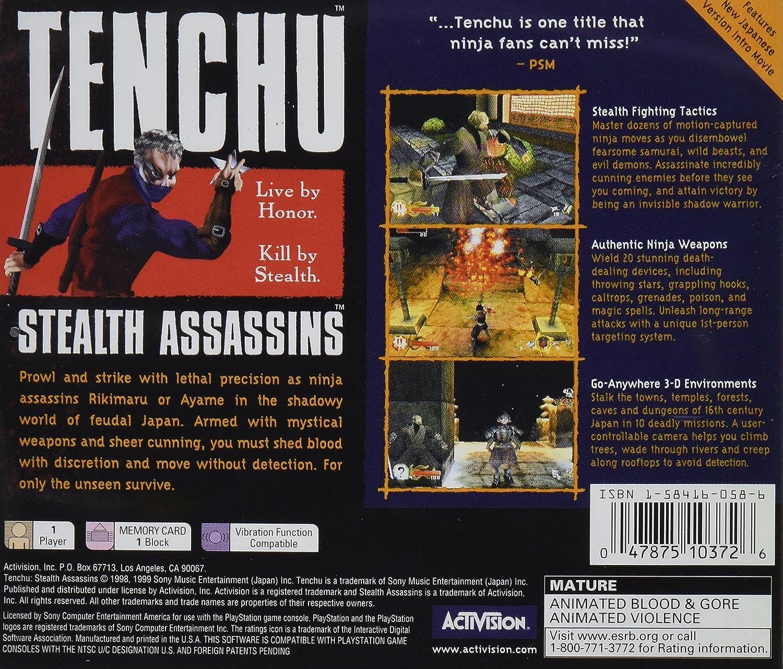 Tenchu / Game [Importación Inglesa]: Amazon.es: Videojuegos