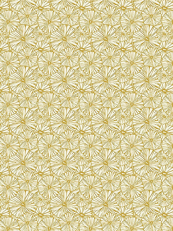 motivos Moderno con textura efecto /td790/C arco Papel con Lotus hojas ideal para sus pappmach/és 40/x 60/cm Decopatch/ 1/pieza plegado color blanco//oro