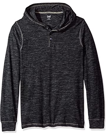 312919ed Lee Men's Button Hoodie (Various Colors and Sizes Including Big and Tall)