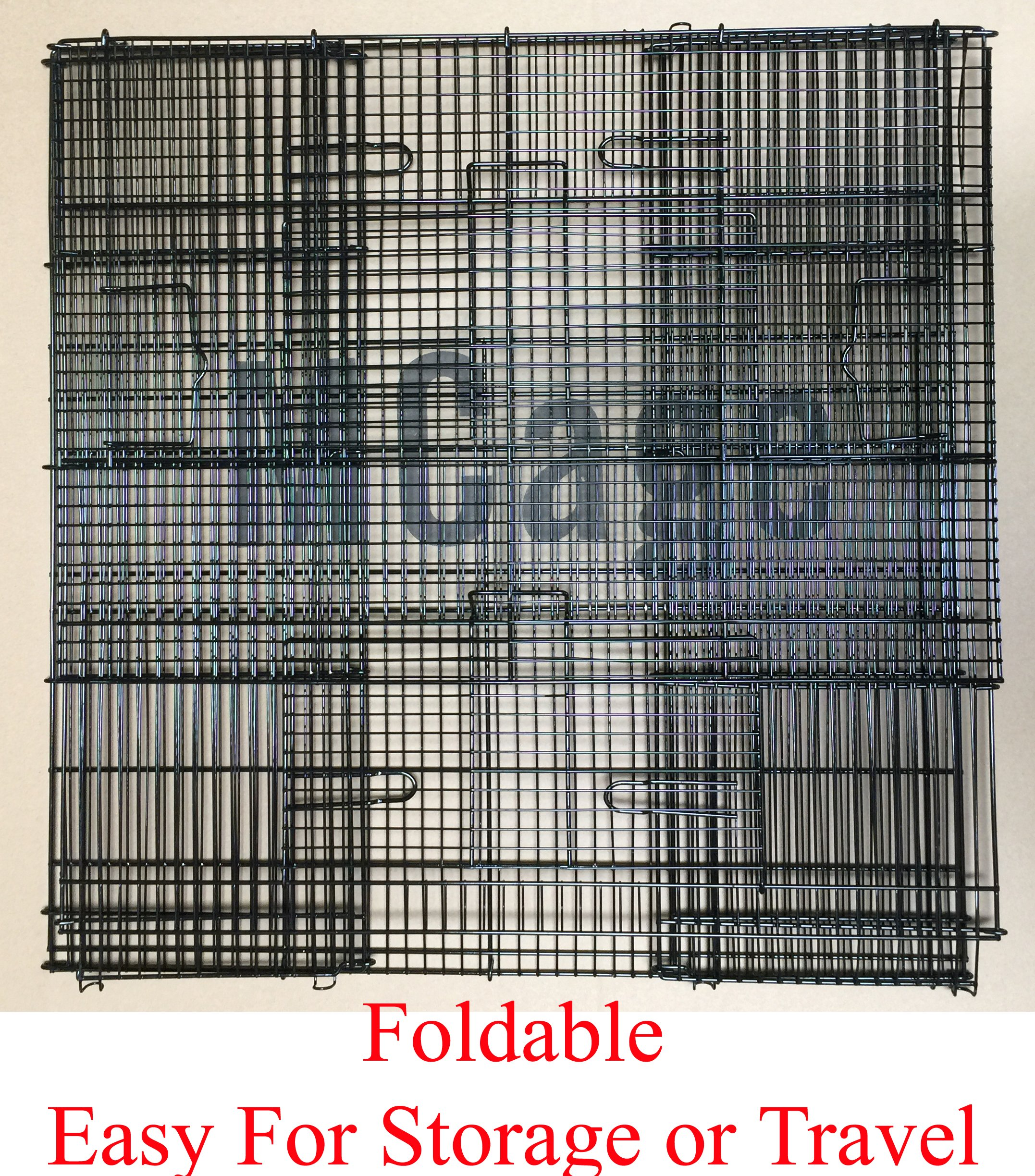 New Medium 3 Levels Ferret Chinchilla Sugar Glider Cage 24'' Length x 16'' Depth x 24'' Height by Mcage (Image #4)