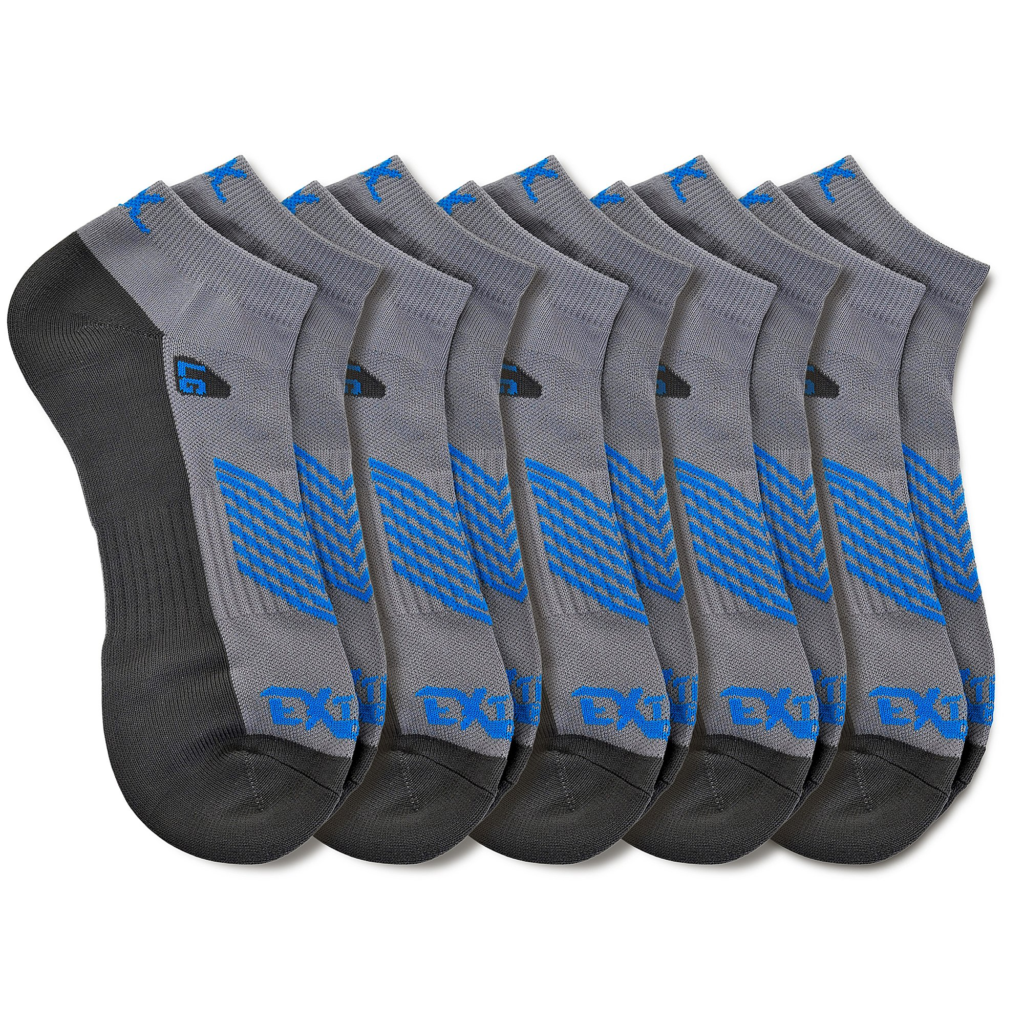 Extreme Gear NO Show Running Socks - High Performance Moisture Wicking Ultra Breathability No Show Blister Free Sock 3 Colors