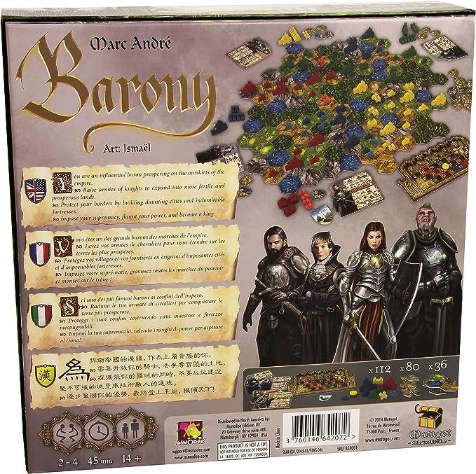 Matagot SAS Asterión - Baronía Juego de Mesa: Amazon.es: Juguetes y juegos