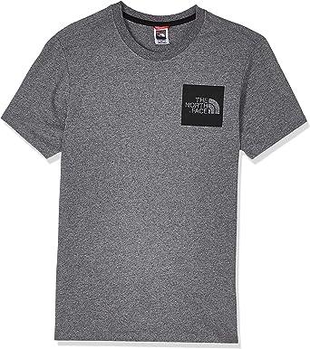 The North Face M S/S Fine tee - Camiseta para Hombre: Amazon.es: Deportes y aire libre